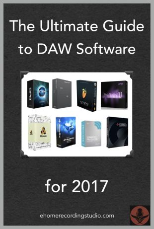 Looking for a good music recording/editing software for your new home studio? In this post I reveal the 10 most popular free/paid DAWs as of 2017.