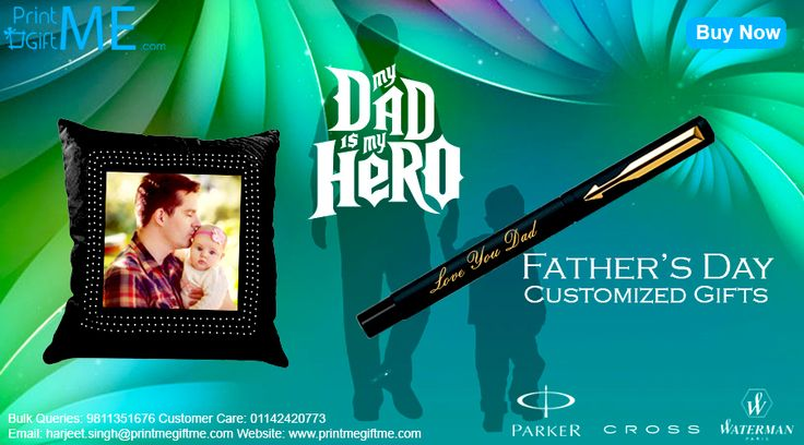 Be Awesome This Father's Day; Gift Personalized Items From Our Website @ http://printmegiftme.com/occasion/fatheers-day
