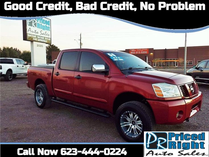 2004 Nissan Titan Crew Cab from Priced Right Auto Sales