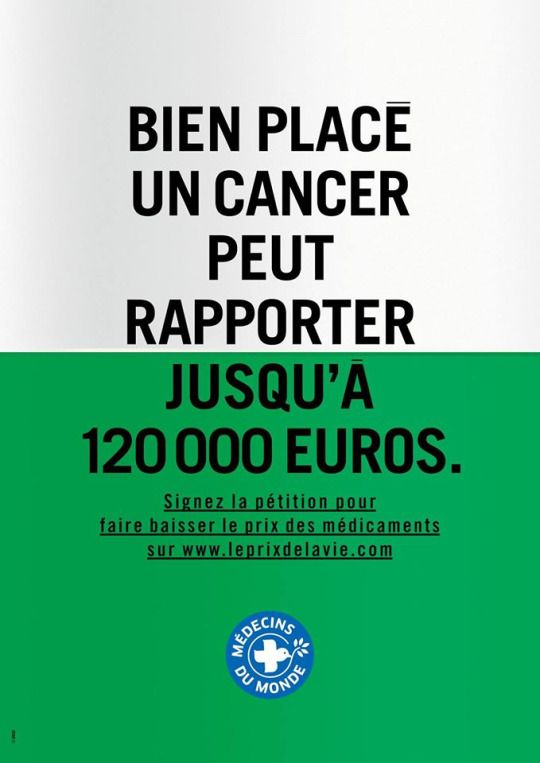 Le prix indécent des médicaments, ça va durer encore longtemps ?  Le Prix de la Vie - Médecins du Monde France.