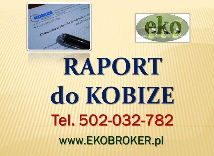Raporty Kobize 2015, opłaty Kobize, prowadzenie firmy , zgłoszenie w krajowej bazie Kobize, tel 502-032-782, Kogo dotyczy Kobize, wytyczne na rok 2015, opłaty za środowisko , http://ekobroker.pl/ ,