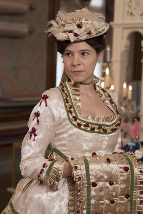 Katherine Glendenning - Elaine Cassidy in The Paradise, set in the 1870s (BBC TV series 2012-2013).