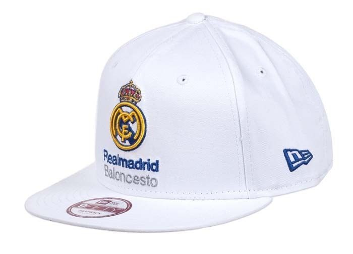 "Gorra Euroliga New Era ""Real Madrid"" 9FIFTY http://www.basketspirit.com/epages/268403.sf/es_ES/?ObjectID=4853198&ViewAction=FacetedSearchProducts&SearchString=new+era"