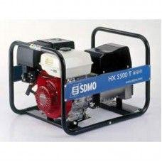 SDMO HX5000T 3 Phase Petrol Generator