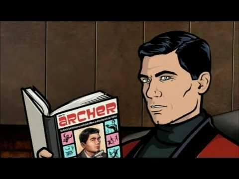 Sterling Archer introducing the new season of Archer - UK promo