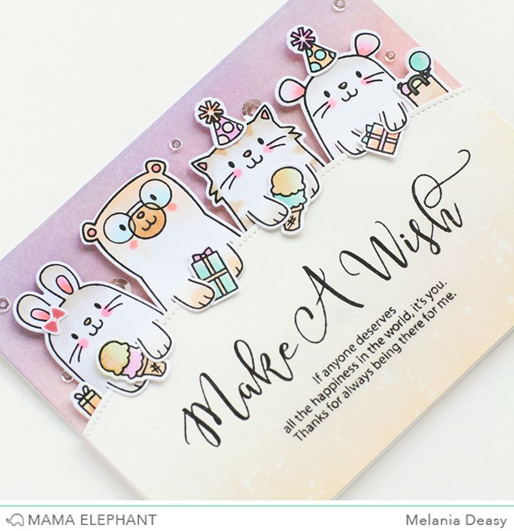 Mama Elephant Stamp Highlight Page Huggers