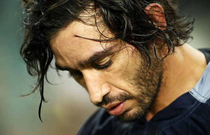 Australia in 2016 summed up perfectly in pictures:      Johnathan Thurston looks dejected after losing the NRL Preliminary Final match between the Cronulla Sharks and the North Queensland Cowboys.