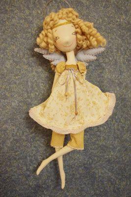NKALE :-) В каждой игрушке сердце: Маленький Ангел сегодня на небе играет))) Ангел К*...