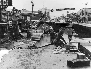 #Alaska #Earthquake #1964.  The 1964 Alaskan earthquake was the largest earthquake ever recorded in North America in terms of magnitude.  The 1906 San Francisco earthquake was the worst U.S. earthquake in terms of death toll, however, resulting in at least 700 deaths.  The largest earthquake ever recorded was a 9.5 Mw earthquake in Chile in 1960.