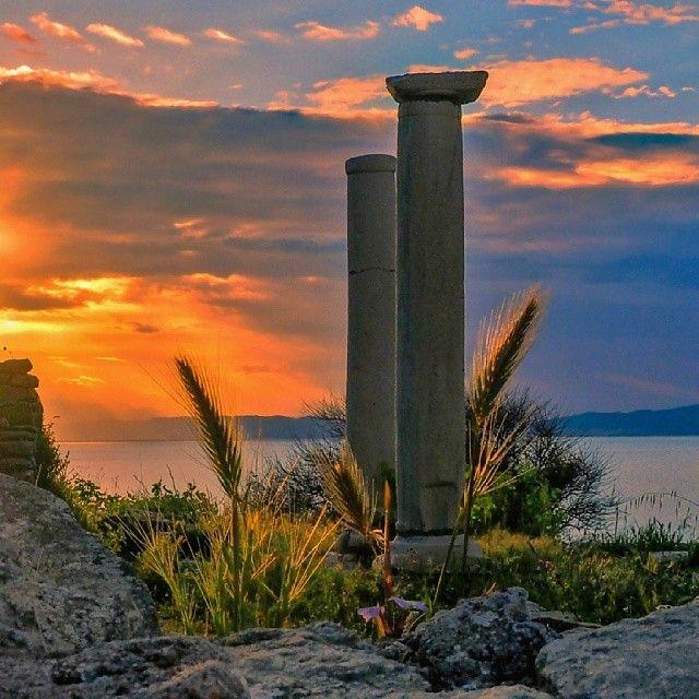 kostasboz Στο αρχαίο θέατρο ... Thassos Island - Greece http://instagram.com/p/oK13jGw3fF/