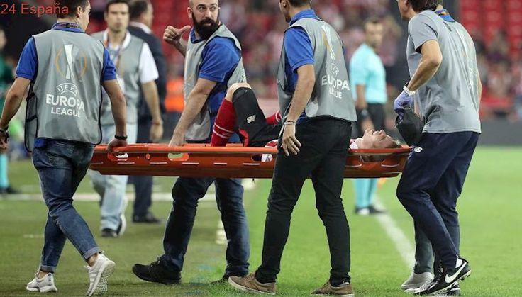 Iker Muniain sufre la rotura del ligamento cruzado anterior de su rodilla derecha