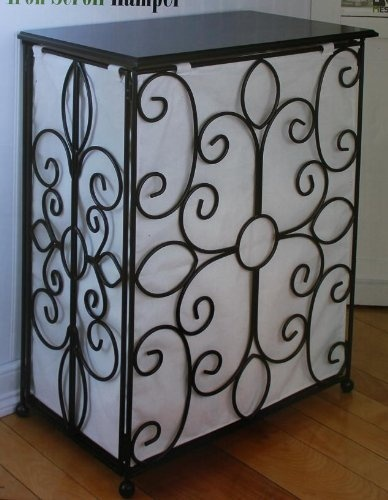 Mesa Wrought Iron Scroll Hamper By Mesa Http Www Amazon