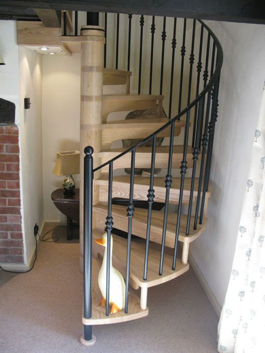 Best Bespoke Wooden Spiral Staircases Staircase Design 400 x 300