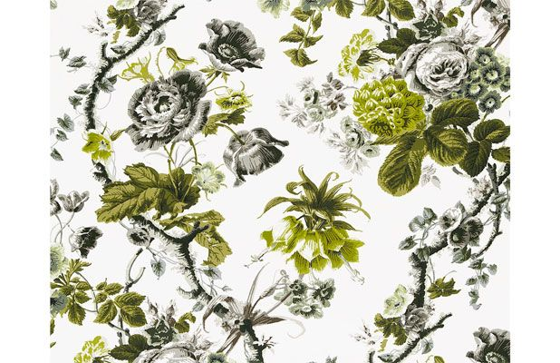 Acid-Washed Chintz This is not your grandmother's chintz. This year, floral fabrics got a major makeover in saturated, acid-washed hues.