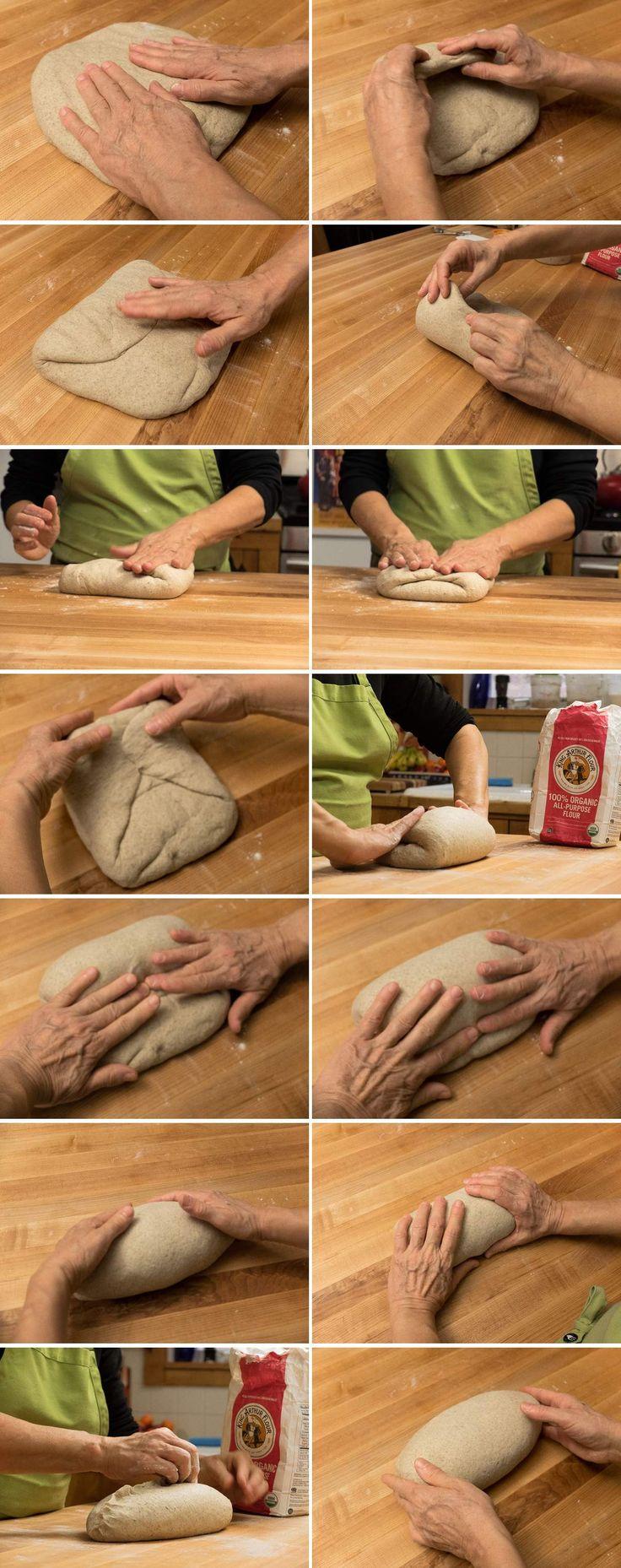 How to make Jewish Rye Bread via @kingarthurflour