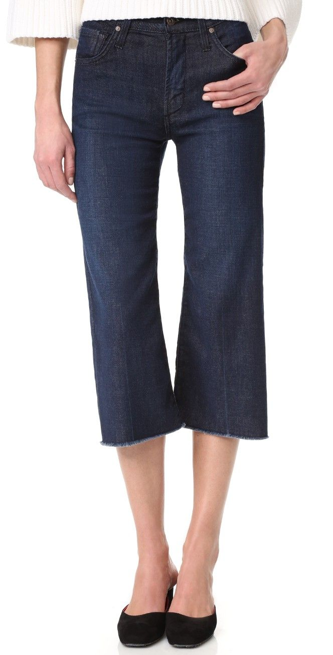 James Jeans High Rise Frayed Hem Carlotta Jeans | SHOPBOP SAVE UP TO 25% Use Code: GOBIG17