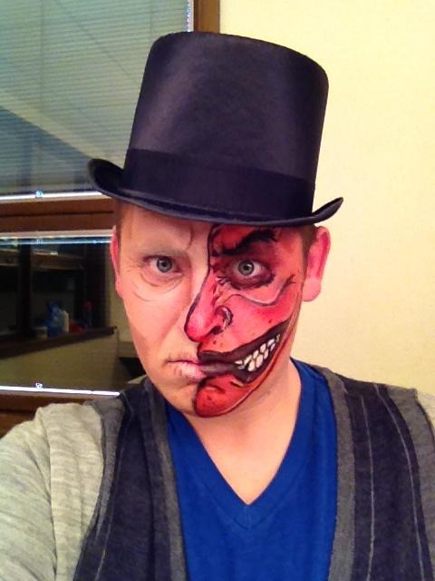 Dr. Jekyll/Mr. Hyde #halloween #makeup   Trick or treat ...