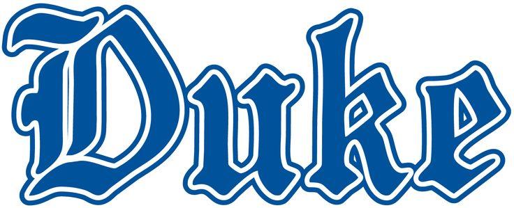 Duke Blue Devils Wordmark Logo 1978 Duke Blue Devils