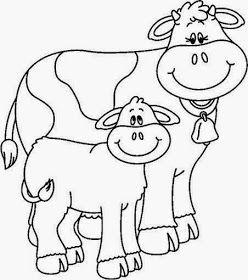 Maestra De Infantil Dibujos De Animales Para Colorear Igual A Un