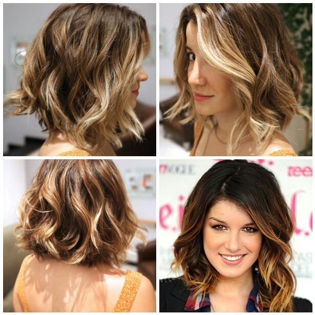 short ombre color... I could do this...