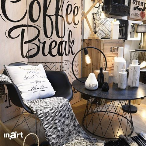 The best way to pay for a lovely moment is to #enjoy it. #inart #HomeDecor #Decoration #FurnitureDesign #Furniture #Chair #Screen #BlackAndWhite