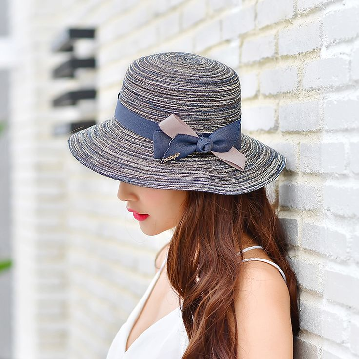 >> Click to Buy << 2017 New Summer Sun Hats For Women With Big Heads foldable Sun Hat Girls Large Brim Beach hat UV protection #Affiliate