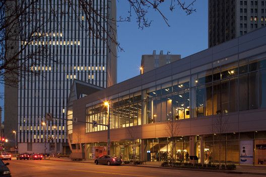 August Wilson Center for African American Culture,© Joshua Franzos Photography