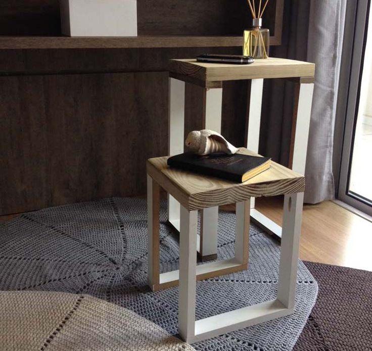 DIY (Do it Youself! - Faça você mesmo)  Como fazer uma mesinha lateral. por João Fogari - Colunista do blog.