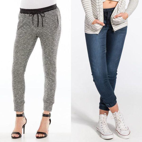Брюки  джоггеры женские что это такое ; штаны или брюки на 2017 год(с фото)