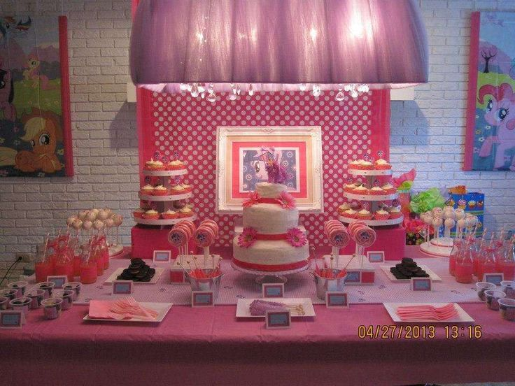 My Little Pony Birthday Party Ideas Decorations
