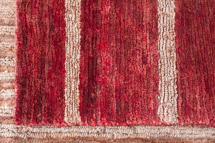 Jute Kav Baz Red (Detalle) - Bazhars Alfombras Chile ®
