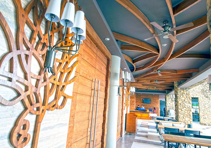 Interior Design - Wooden Decoration Mahogany Hotel Bali