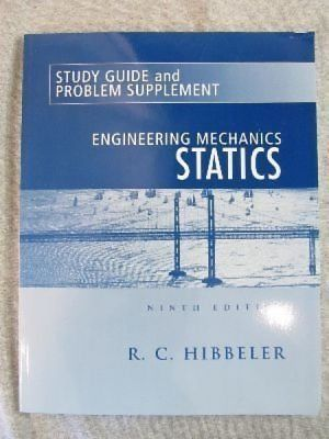 Study Guide And Problem Supplement By Hibbeler Russell C Authors