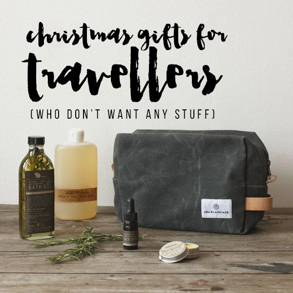 'Christmas Gifts for Travellers Who Don't Want Any Stuff' // Christmas Gift guide 2015 | The Wayfarer Diaries