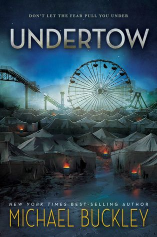 UNDERTOW by Michael Buckley. Like a sushi burrito, Buckley combines the world of mer-people with a dystopian future to create a great summer read you won't be able to put down! Buckley weaves themes of immigration, discrimination, racism and class disparity with classic YA themes of forbidden love and a hero coming into her true powers in this first in a trilogy.