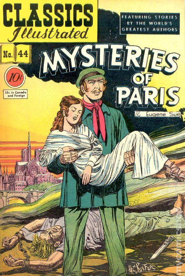 classics illustrated images | Classics Illustrated 044 Mysteries of Paris comic books