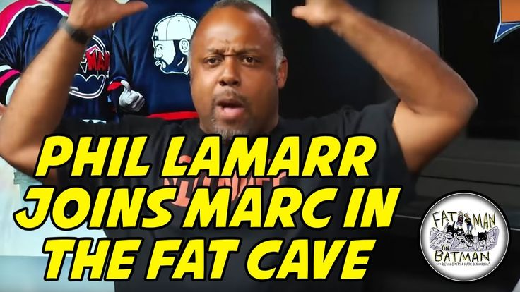 PHIL LAMARR JOINS MARC IN THE FAT CAVE - YouTube
