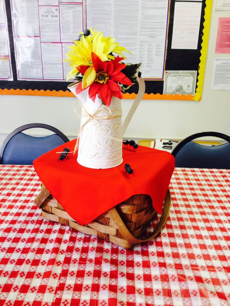 Best images about picnic centerpieces on pinterest