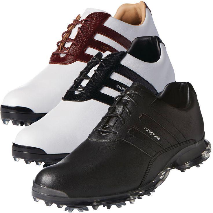 Adidas Adipure Clásico Para hombres Cuero Impermeable Zapato de golf, al por menor $250   Artículos deportivos, Golf, Ropa, calzado y accesorios de golf   eBay!