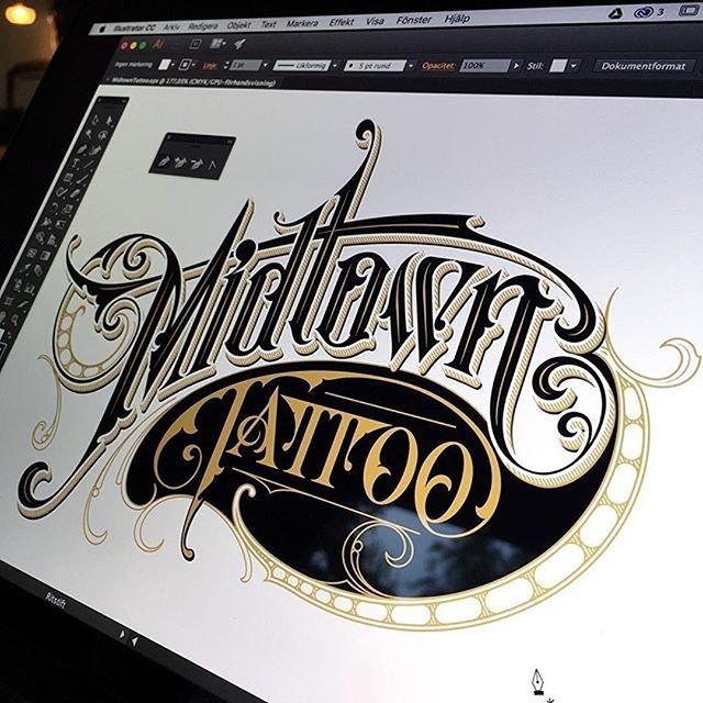 Tattoo Forever By Schmetzer Handmadefont Design Pinterest