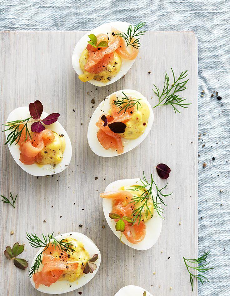 RICETTE SVEDESI di IKEA: Uova al salmone - scopri la ricetta su https://nuovecollezioni.ikea.it/ricettesvedesi_2016/