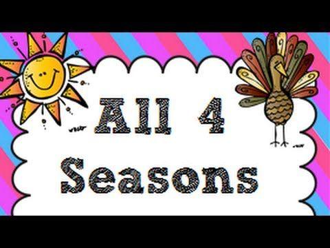 ▶ Different Seasons -Kindergarten,Preschool Kids with Quiz - YouTube