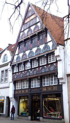 Osnabrück in der Fußgängerzone