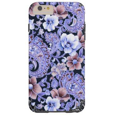 """Title : 200, Cultural, Exotic, Leopard, Floral Jacquard Tough iPhone 6 Plus Case  Description : These designs are a mix of """"Leather-Fabrics-Animal Skin Prints"""", and other fabric patterns, such as Damask, Jacquard, Brocade to add an Elegant Style to your Home decor.  Product Description : <div>  Style: Case-Mate Tough iPhone 6/6s Plus Case    <div>    <p>Contoured precisely to fit the iPhone 6/6s plus with 5.5 inch screen, this Case-Mate case features a hard shell plastic exterior and shock…"""