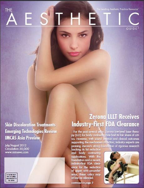 The Aesthetic Guide released an in depth look at Zerona for July/August 2012. You can download a PDF of the guide here http://www.tazsol.com/files/Aesthetic%20Guide_Zerona%20AD.pdf