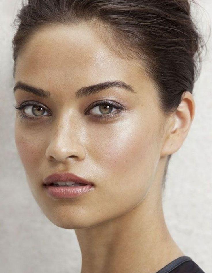 Le maquillage naturel du compte Pinterest d'Ashley Colburn