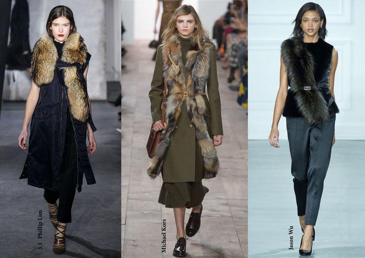 FW15 trends / Fur stole / Női divat 2015 ősz tél / Szőrmestóla