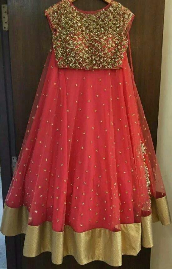 Designer lehanga  Price: 6000 #elegantfashionwear #designer #lehengha