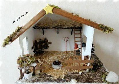 5 modèles de crèches de Noel à faire soi-même