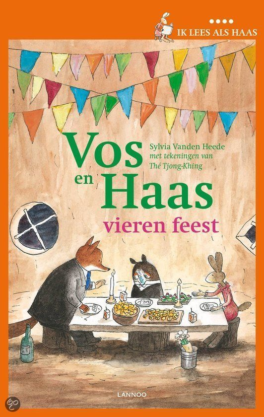 Eenvoudige, grappige verhalen op maat van beginnende lezers Het is feest bij Vos en Haas. Uil is de gast. 'We vieren dat we buren zijn. En v...